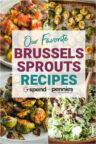 A collage of Brussels Sprouts Recipes