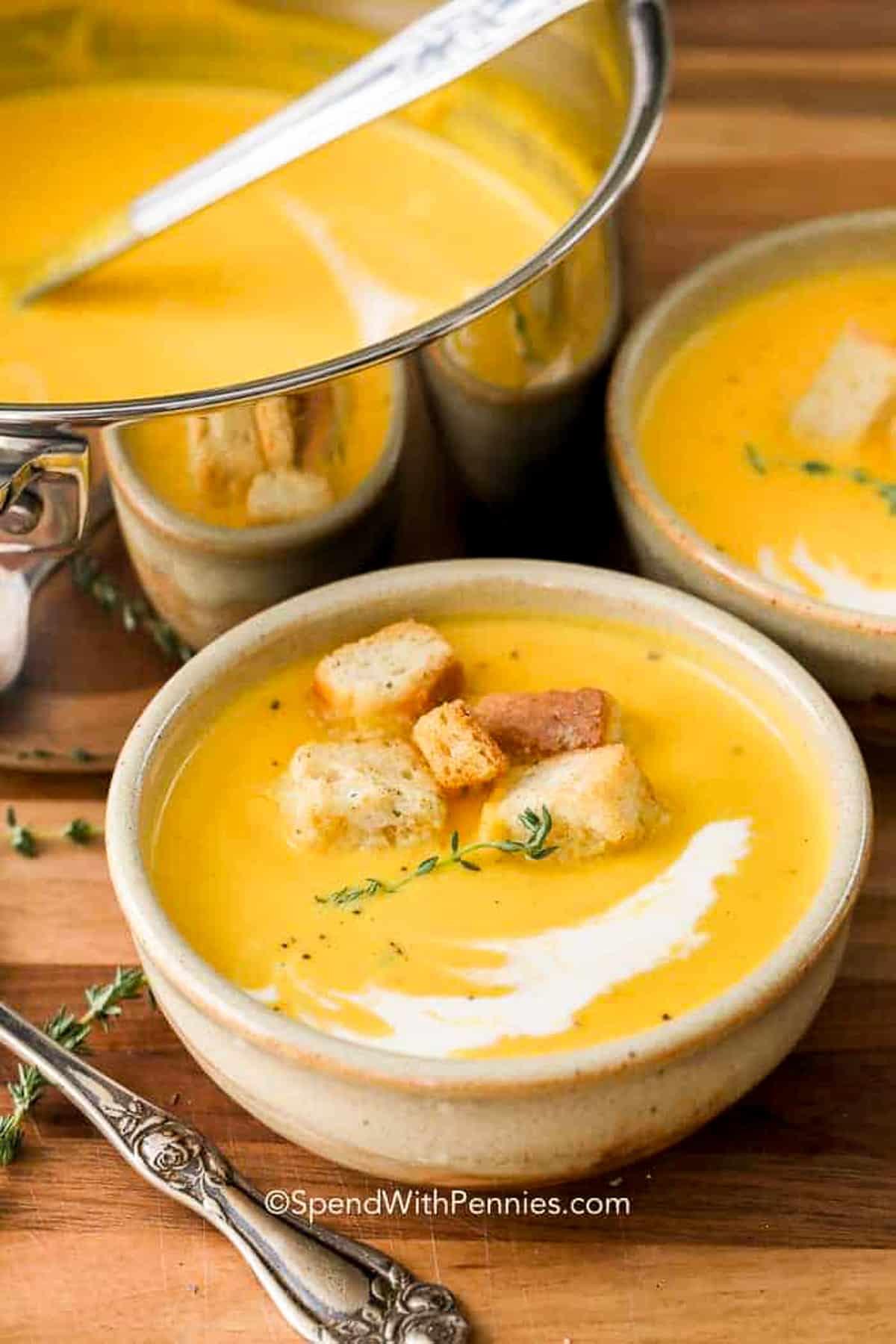Butternut squash leves – költsd el fillérekért